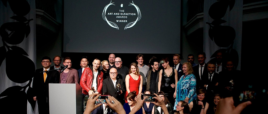 Vierter Art and Olfaction Award 2017 in Berlin
